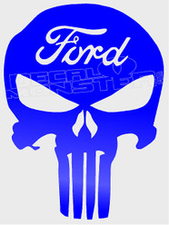 Ford Punisher Decal Sticker