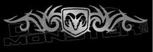 Tribal Flames Ram Decal Sticker
