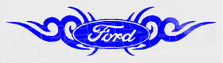 Ford Tribal Flames 1 Decal Sticker