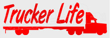 Trucker Life Decal Sticker
