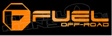 Fuel Off Road 4 Decal Sticker