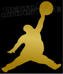 Air Pun Fat Air Jordan Decal Sticker