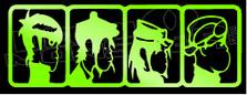 Gorillaz Band Silhouette 1 Decal Sticker