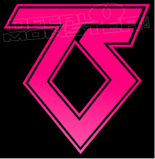 Twisted Sister Band Silhouette 1 Decal Sticker