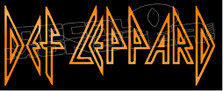 Def Leppard Band Silhouette 1 Decal Sticker