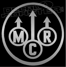 MCR Band Silhouette 1 Decal Sticker