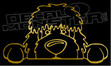 Golden Doodle Life Decal Sticker
