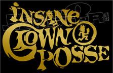 ICP Insane Clown Posse Hatchet Family Band Decal Sticker