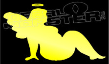 Chunky Angel Decal Sticker