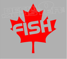 Fish Canada Decal Sticker