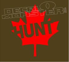 Hunt Canada Decal Sticker