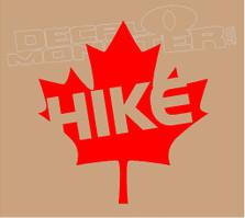 Hike Canada Decal Sticker