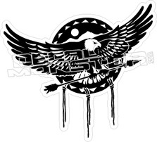 678 Eagle decal