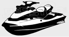 Sea Doo Silhouette Decal Sticker