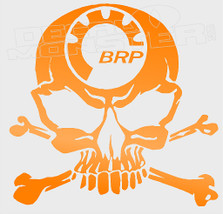 BRP Skull and Cross Bones Silhouette Decal Sticker