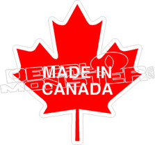 Canada Flag Wave Flag Decal DecalMonstercom - Decals for boats canada