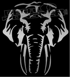 Elephant Silhouette Decal Sticker