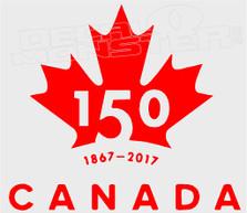Canada 150 Pilot Editon 1 Decal Sticker