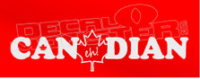 Canadian Eh Decal Sticker