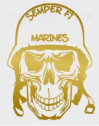 Semper FI Marines Decal Sticker