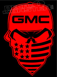 Badass GMC Bandit Outlaw Decal Sticker