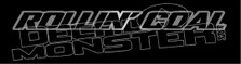 Rollin' Coal Outline Decal Sticker