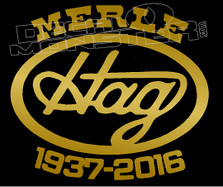 Merle Haggard 1937-2016 Memorial Music Decal Sticker