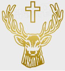 Jagermeister Deer 2 Drink Decal Sticker