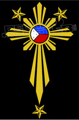 Philippines Stars 12 Decal Sticker