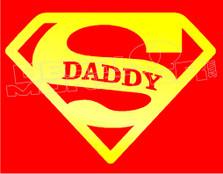Super Daddy Decal Sticker