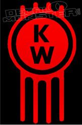 Kenworth Trucks Badge Style 2 Decal Sticker