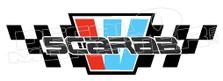 Scarab Logo Style 1 Boat Decal Sticker