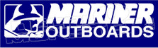 Mariner Outboards Boat Decal Sticker