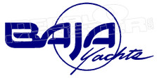 Baja Yachts Boat Decal Sticker