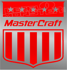 Stars & Stripes Mastercraft Logo Boat Decal Sticker