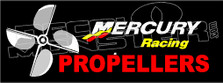 Mercury Marine Racing Propellers 1 Boat Decal Sticker