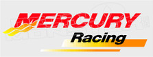 Mercury Marine Racing 1 Boat Decal Sticker