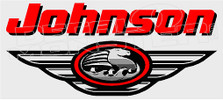 Johnson Outboard Motors Logo 1 Boat Decal Sticker