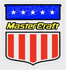 Mastercraft Boat Emblem 2 Decal Sticker