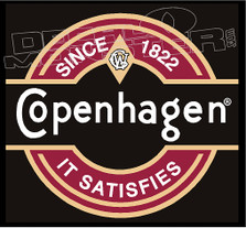 Since 1822 Copenhagen 2 Decal Sticker