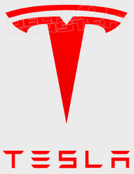 Tesla Logo Style 1 Auto Decal Sticker