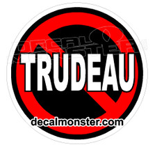 No Trudeau Edition Canada Decal Sticker