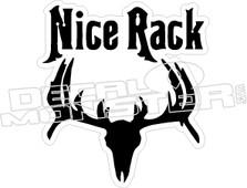 Nice Rack - Hunting Decal