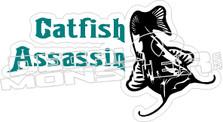 Catfish Assassin - Fishing Decal