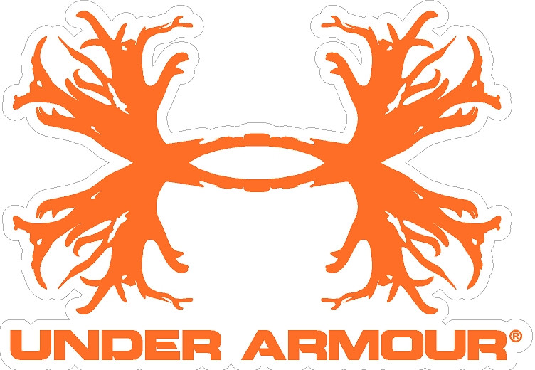 Under Armour Antlers Decal Decalmonster Com