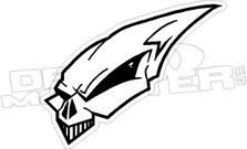 Alien Skull 1 Decal