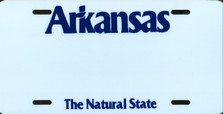Arkansas State Auto Plate