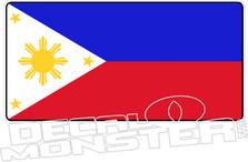Philippines Flag  Decal DM