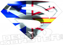 Newfoundland Super Man Decal DM