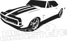 Camaro SS Silhouette Wall Decal DM